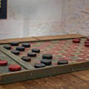 Checkered Past - Checkers Art Print