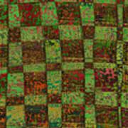 Checkoff Abstract Pattern Art Print