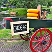 Cheese On A Wagon Art Print