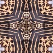 Cheetah Cross Art Print