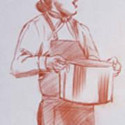 Chef 6 Art Print