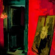 Chelsea Hotel Abstract Art Print
