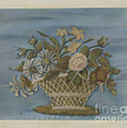 Chenille Embroidery Art Print