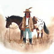 Cherokee Lighthorse Art Print
