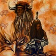 Cherokee Mist Art Print