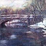 Cherokee Park Bridge Art Print