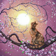 Cherry Blossom Waltz  Art Print