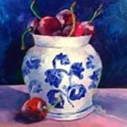 Cherry Delights Art Print