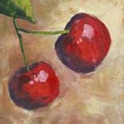 Cherry Duo Art Print