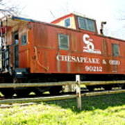 Chesapeake -ohio Rr Art Print