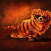 Cheshire Canine Art Print