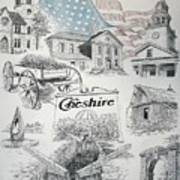 Cheshire Historical Art Print