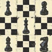 Chess Pieces Art Print by Debbie DeWitt
