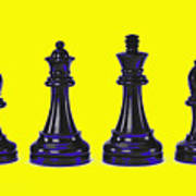 Chessmen Art Print