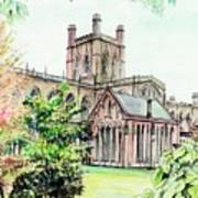Chester Cathedral England Art Print
