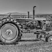 Chesterfield Tractor Art Print