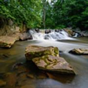 Chestnut Creek Falls  Art Print