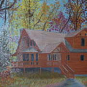 Chestnut Hills Art Print