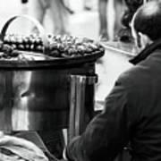 Chestnuts In Rome Art Print