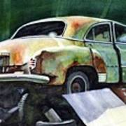 Chev At Rest Art Print