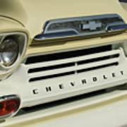 Chevrolet Apache 31 Fleetline Front End Art Print