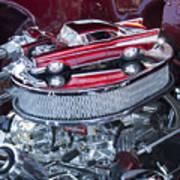 Chevrolet Bel-air Matchbox Car Art Print