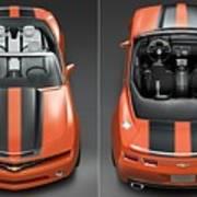 Chevrolet Camaro Convertible Concept 5  Art Print