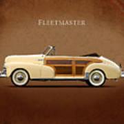 Chevrolet Fleetmaster 1947 Art Print