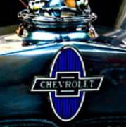 Chevrolet Hoodie Art Print