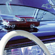 Chevrolet Nomad Toy Car Art Print