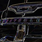 Chevrolet 2 Art Print