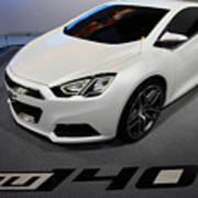 Chevrolet Tru 140s Concept Art Print