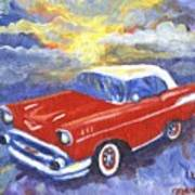 Chevy Dreams Art Print