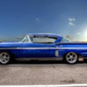 Chevy Impala Art Print
