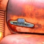 Chevy Truck Emblem Art Print