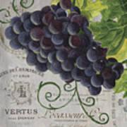 Vins De Champagne 2 Art Print