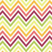 Chic Chevron Pattern Art Print
