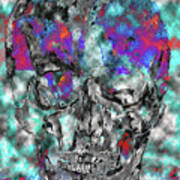 Chic Skull Art Print