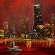 Chicago Acid Trip Art Print