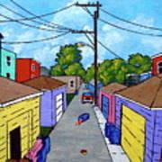 Chicago Alley Art Print