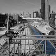 Chicago Amtrak Art Print