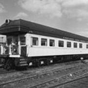 Chicago And North Western Business Car 1 Art Print