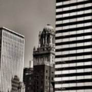 Chicago Architecture - 14 Art Print