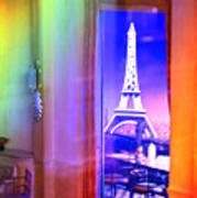 Chicago Art Institute Miniature Paris Room Pa Prismatic 08 Vertical Art Print