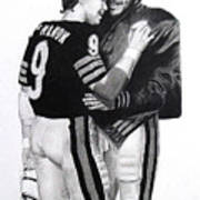 Chicago Bears Quarterbacks Art Print