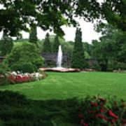 Chicago Botanical Gardens Landscape Art Print