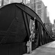 Chicago Bridge  Art Print