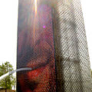 Chicago Crown Fountain 4 Art Print
