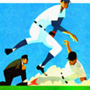 Chicago Cubs 1970 Program Art Print