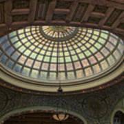 Chicago Cultural Center Tiffany Dome 01 Art Print
